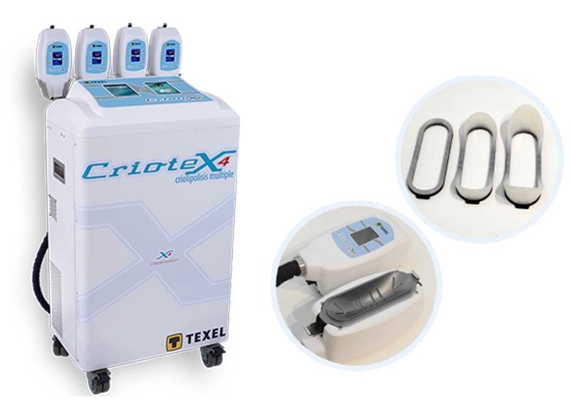 Criotex - Criolipolisis Múltiple de 4 Cabezales