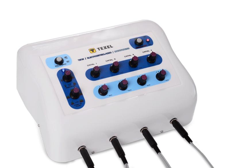 TENS + Estimulador + Iontoforesis + 4 Canales